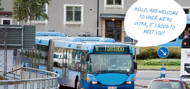 Ultra Your Local Bus Service In Umea