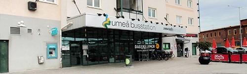 Reseinfo Umea Busstation