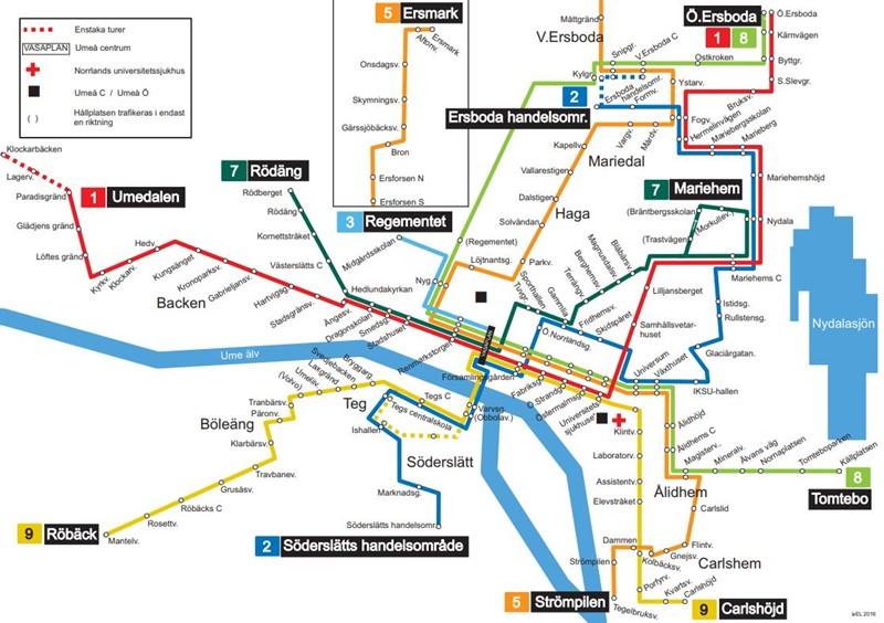 Karta Umea Sjukhus Karta 2020